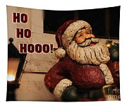 Santa Claus Christmas Card Tapestry