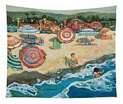 Santa Cruz Beach Boardwalk Tapestry