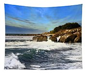 Santa Cruz Coastline Tapestry