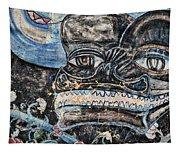 Santa Fe Railway Mural #2 Tapestry