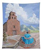 Santurario De Guadalupe Tapestry