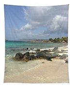 Sapphire Beach St. Thomas Tapestry
