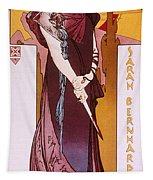 Sarah Bernhardt Tapestry