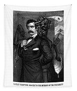Satan Tempting John Wilkes Booth Tapestry