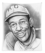 Satchel Paige II Tapestry