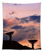 Satellite Sunset Tapestry