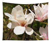 Saucer Magnolia Tapestry