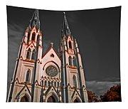Savanna Georia Church Color Infrared 74 Tapestry