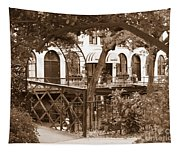 Savannah Arches In Sepia Tapestry