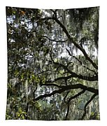 Savannah Green Leaves Tapestry
