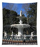 Savannah Square Fountain Tapestry