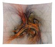 Saving Omega - Fractal Art Tapestry