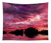 Scarlet Skies Tapestry