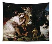 Scene From A Midsummer Night's Dream Tapestry