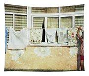 Scene Of Daily Life Tapestry