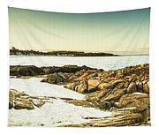 Scenic Coastal Dusk Tapestry