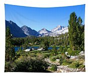 Scenic Mountain View Tapestry