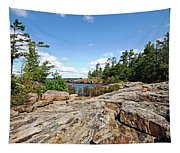 Scenic Wreck Island Tapestry