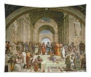 School Of Athens From The Stanza Della Segnatura Tapestry