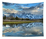 Schwabacher Spring Clouds Tapestry
