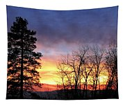 Scintillating Sunset Tapestry