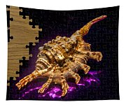 Scorpion Shell Puzzle Tapestry