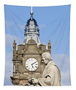 Scott Statue And Balmoral Clock Tower Tapestry