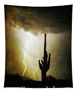 Scottsdale Arizona Fine Art Lightning Photography Poster Tapestry