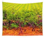 Scraggly On The Edge Tapestry