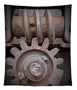 Screw And Gear  Tapestry