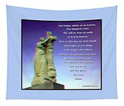 Scripture - Use Red-cyan 3d Glasses Tapestry