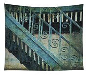 Scrolled Staircase By H H Photography Of Florida Tapestry