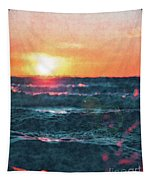 Sea And Sun Tapestry