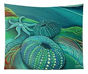 Sea Anemone Kina By Reina Cottier Tapestry