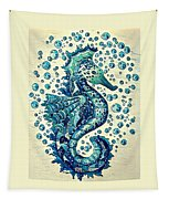 Sea Horse A Tapestry
