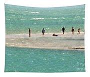 Sea Life Salt Life Key West Style  Tapestry