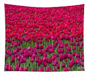 Sea Of Tulips Tapestry