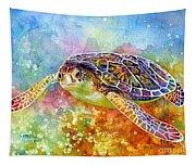Sea Turtle 3 Tapestry