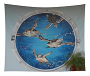 Sea Turtles Tapestry