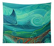 Seabed By Reina Cottier Tapestry