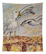 Seagull Salute Tapestry