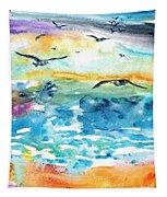 Seagull Seas Tapestry