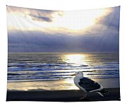 Seagull Sentinel Tapestry