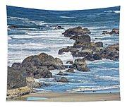 Seal Rock Seascape Tapestry