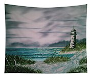 Seascape Lighthouse Tapestry