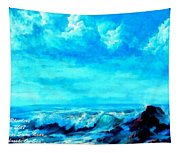 Seascape Scene Near Northbrooke-on-sea L A Tapestry