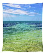 Seascape - The Colors Of Key West Tapestry