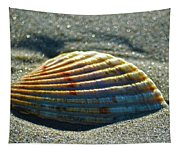 Seashell After The Wave Tapestry