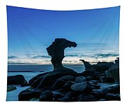 Seaside Rock Formations At Daybreak Tapestry