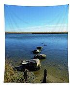 Seaside Rocks Tapestry